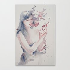 Lot's Wife Canvas Print