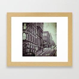 Unnatural Weather Framed Art Print