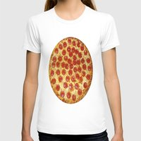 pizza T-shirts featuring Pizza by I Love Decor