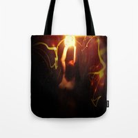 firefly Tote Bags featuring Firefly by Jason Byron Nelson
