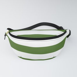 Simply Stripes in Jungle Green Fanny Pack