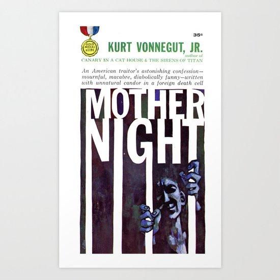 Vonnegut - Mother Night Art Print