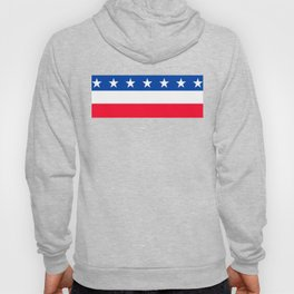 Red White Blue Stars Stripes Patriotic Hoody