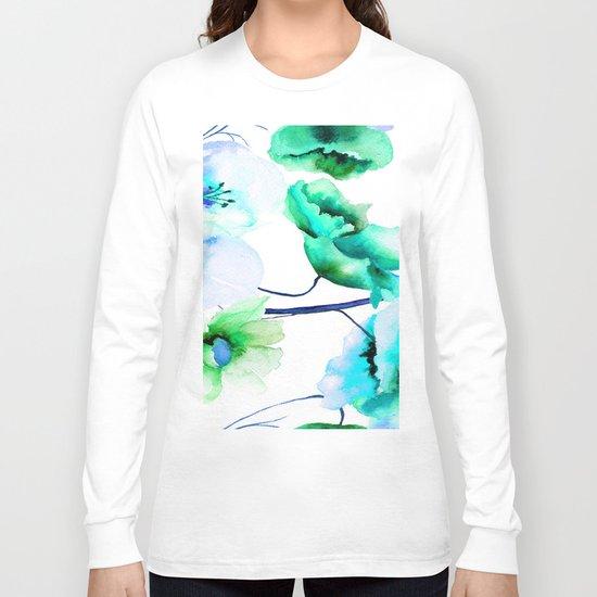 Flowers 05 Long Sleeve T-shirt