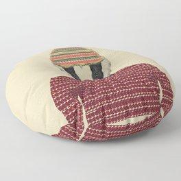 seb the badger  Floor Pillow