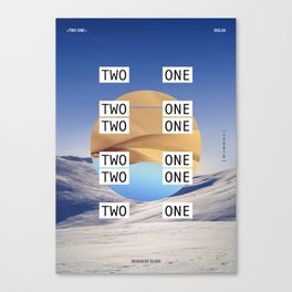 Two One Canvas Print