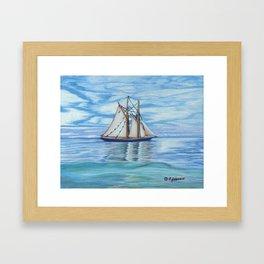 Bluenose II Framed Art Print