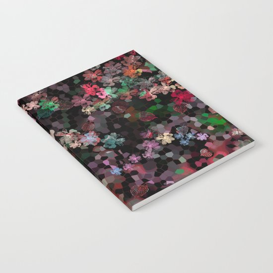 Flower mosaic Notebook