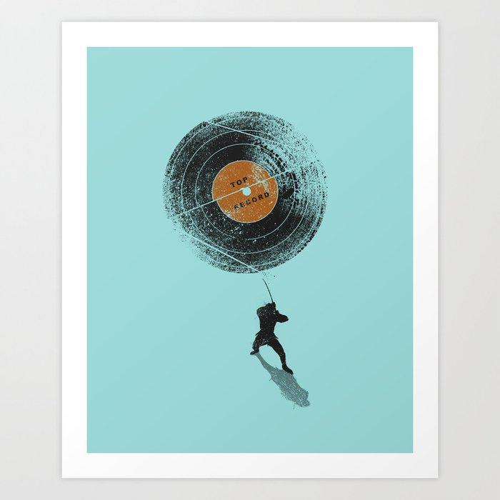 Record Breaker Art Print