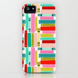 Amazing Super Awesome Books iPhone Case