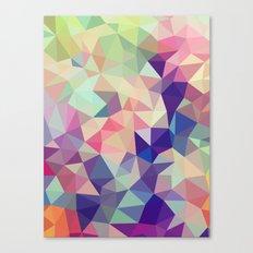 Jelly Bean Tris Canvas Print