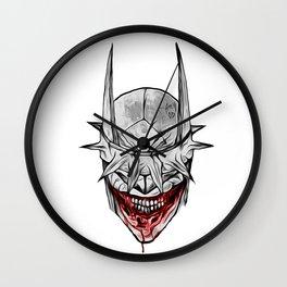 Bloody Bat Laughing Wall Clock
