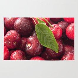 Taste of juicy cherries Rug