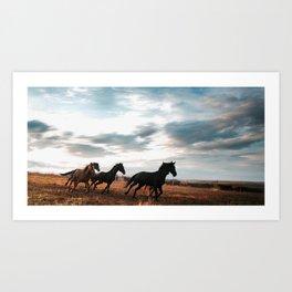 horseplay  Art Print