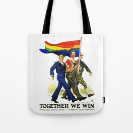 Together We Win! Tote Bag