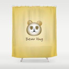 Bear Hug! Shower Curtain