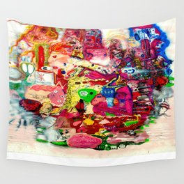 Candy Flipping Wall Tapestry