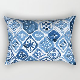 Arabesque tile art Rectangular Pillow