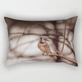 The Blue Jay Rectangular Pillow