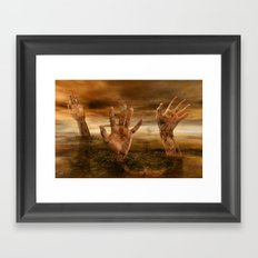 Another World 8 Framed Art Print