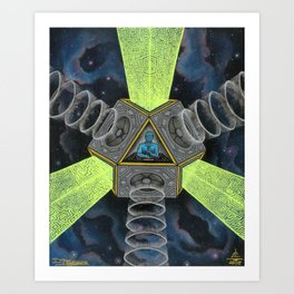 Vectron Equilibrius Art Print
