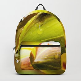 blooming in the rain Backpack