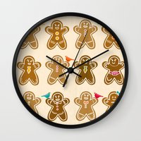 ginger Wall Clocks featuring Ginger by Kakel