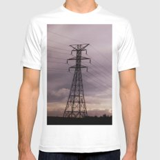 Signal Mens Fitted Tee White MEDIUM