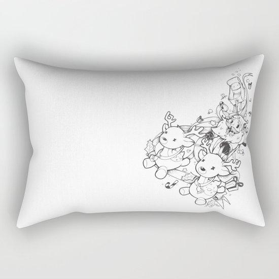 Santa Claus is coming Rectangular Pillow