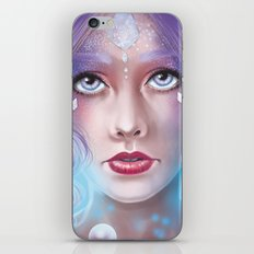 Lady Bubble iPhone & iPod Skin