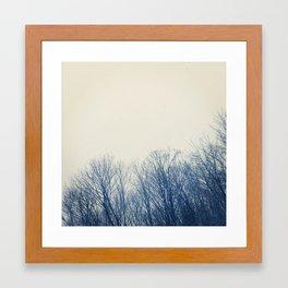 New England Snow Framed Art Print