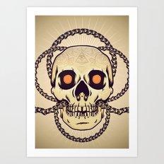 Chainbreaker Art Print
