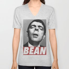 MR BEAN Unisex V-Neck