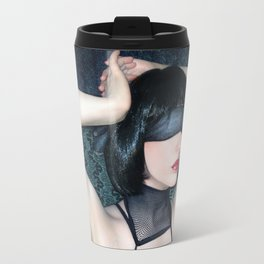 My Blind Reality - Self Portrait Travel Mug