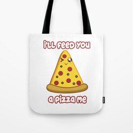 Eat Me Pizza Tote Bag