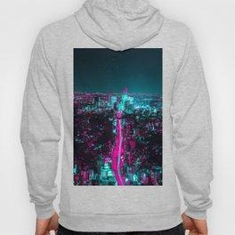 future city vaporwave Hoody