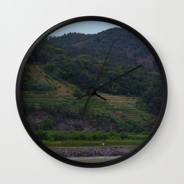 European Riverside Wall Clock