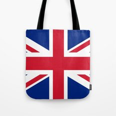 Union Jack Authentic color and scale 3:5 Version  Tote Bag