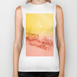 Tropical Summer Lady Glitter #2 #shiny #decor #art #society6 Biker Tank