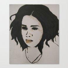stephanie one Canvas Print