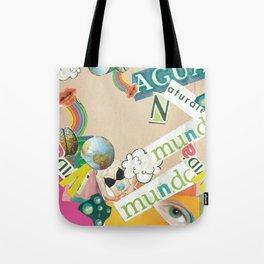 Collage Dada  Tote Bag