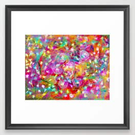 Hodgepodge Framed Art Print