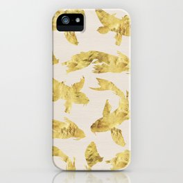 Gold Kois iPhone Case