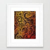 hakuna Framed Art Prints featuring Hakuna Matata by Doodle Design