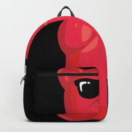 Gummy Bear With Sunglasses Graphic Backpack
