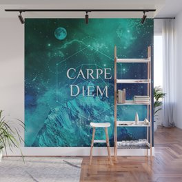 CARPE DIEM GEOMETRY Wall Mural