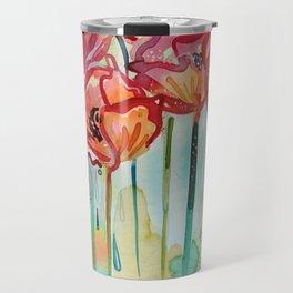 River Poppies Travel Mug