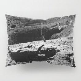 Apollo 16 - Moon Astronaut Crater Pillow Sham
