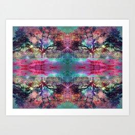 Dream under the trees Art Print