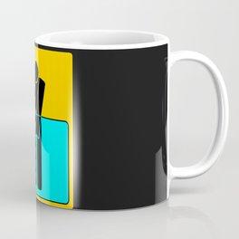 I PEE IN POOLS traffic sign symbol  Coffee Mug